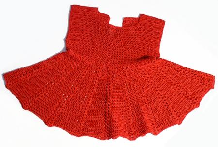 схема вязания сарафана крючком