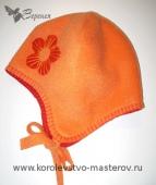 Как сшить детскую шапку: Зимняя детская шапка из флиса