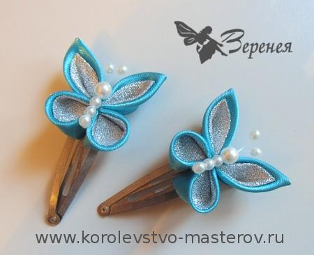 Канзаши бабочки схемы