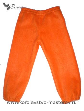 детские штаны выкройка.