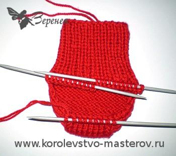 носки спицами для начинающих вязание носков спицами для начинающих