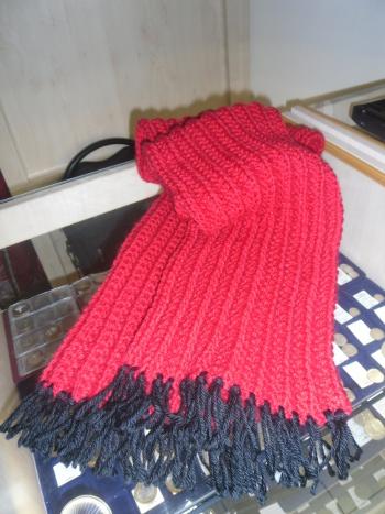 """""""Этот шарф я вязала всего 4"""