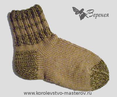 Вязать мужские носки