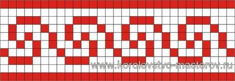 Вышивка греческого орнамента