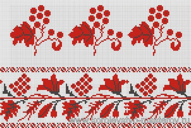 Орнамент вышивки Харьковской