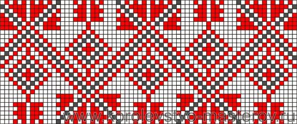 Схема вышивки крестом №17