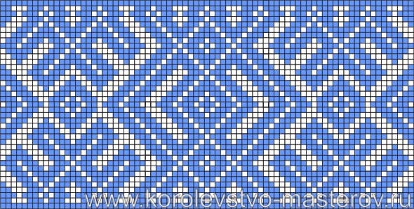 Схема вышивки крестиком №8