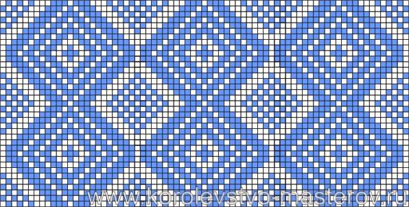 Схема вышивки крестиком №10